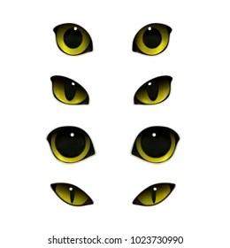 cat eye images stock
