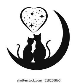 Download Black Cat Silhouette Images, Stock Photos & Vectors ...