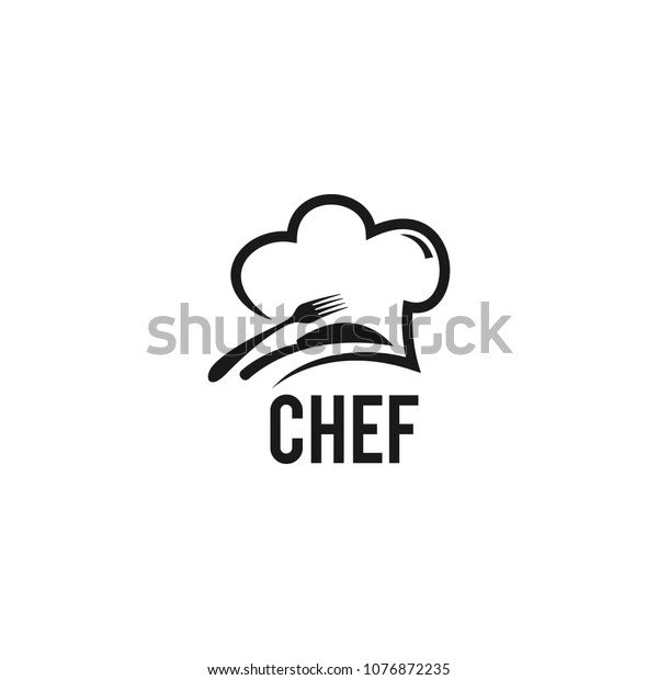 Chef Logo Design Stock Vector (Royalty Free) 1076872235