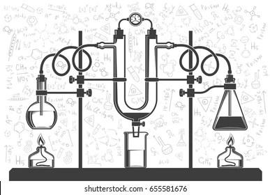 Chemical Reaction Stock Vectors, Images & Vector Art