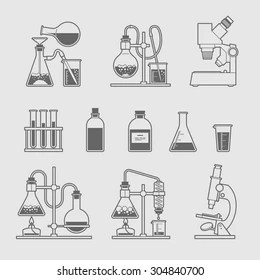 Chemistry Icon Stock Images, Royalty-Free Images & Vectors