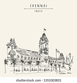 Chennai Illustration Images, Stock Photos & Vectors