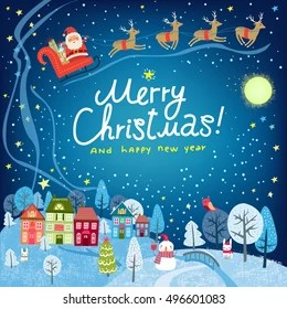 christmas scenery images stock