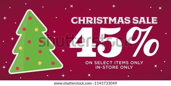 christmas sale 45 off