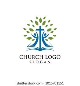 church logo images stock