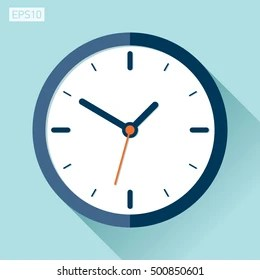 colored clocks images stock