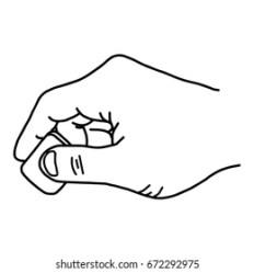 Close Hand Using Rubber Eraser Vector Stock Vector Royalty Free 672292975