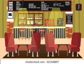 restaurant cartoons coffee shutterstock these vector