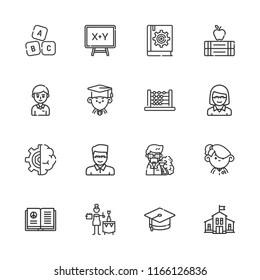 Kindergarten Outline Snímky, stock fotografie a vektory