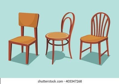wooden chairs pictures tommy bahama chair images stock photos vectors shutterstock collection of cartoon isolated vector illustration