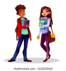 College Black Girls Study Cartoon Images Stock Photos & Vectors Shutterstock