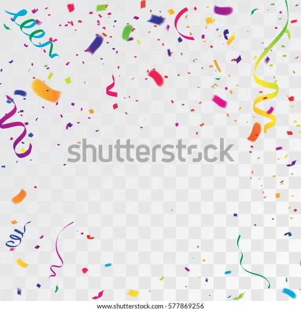 colorful celebration background confetti