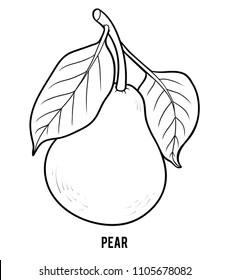 Pear Kindergarten Images, Stock Photos & Vectors