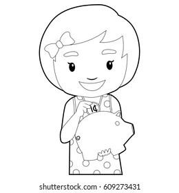Piggy Bank Clip Art Images, Stock Photos & Vectors