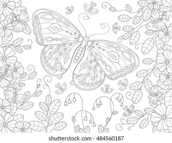Summer Coloring Pages Stock Vectors, Images & Vector Art