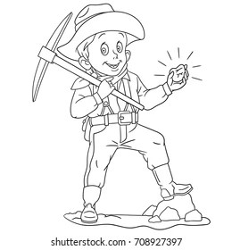 Cartoon Gold Mine Images, Stock Photos & Vectors
