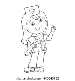 Colouring Pages Hospital Images, Stock Photos & Vectors