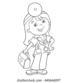 Doctor Coloring Pages Images, Stock Photos & Vectors