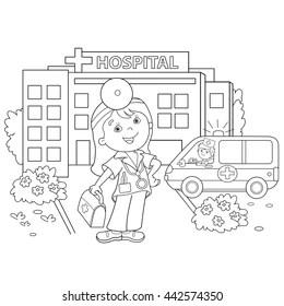 Cartoon Ambulance Images, Stock Photos & Vectors