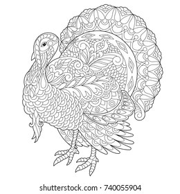 coloring page turkey # 71
