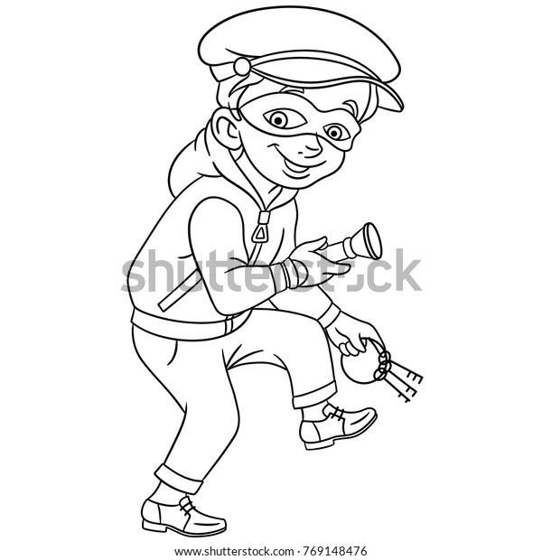 Coloring Pages Kids Design Childrens Colouring Stock