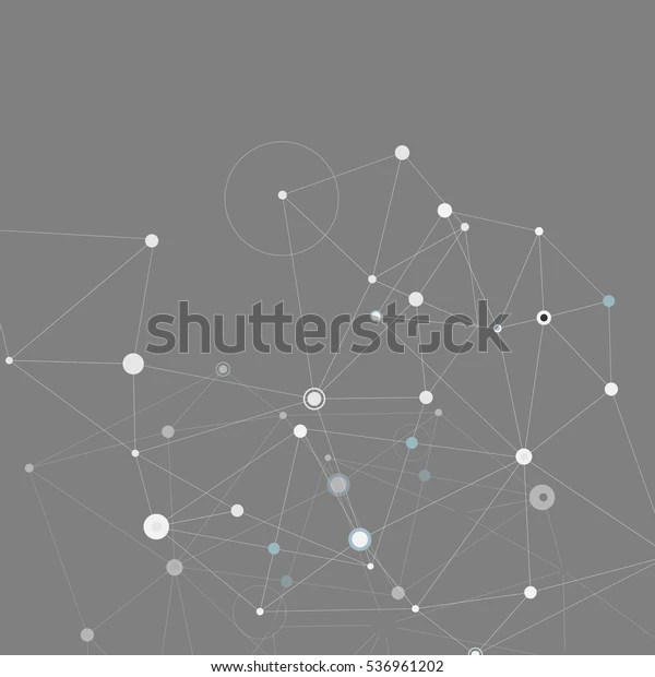 Communication Abstract Vector Network Background Stock