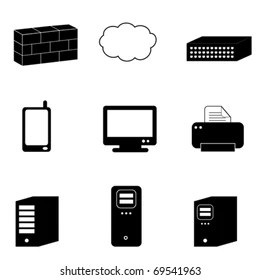 Network Switch Icon Images, Stock Photos & Vectors