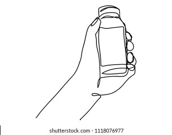Water Bottle Line Drawing Images, Stock Photos & Vectors
