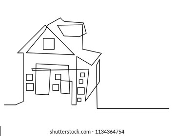 Simple House Drawing Images, Stock Photos & Vectors