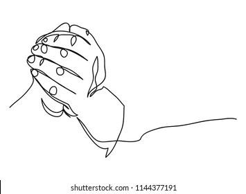 Cartoon-prayer-hand Images, Stock Photos & Vectors