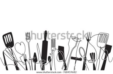 Vector de stock libre de regalías sobre Patrón de cocina