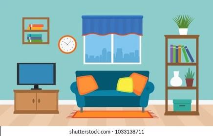 Living Room Cartoon Background Images Stock Photos Vectors Shutterstock