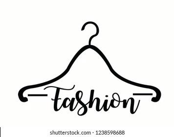 Coat Hanger Logo Fashion Images, Stock Photos & Vectors