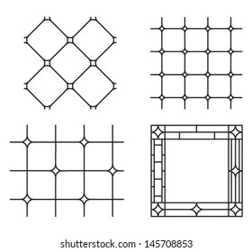 Stained Glass Cross Images, Stock Photos & Vectors