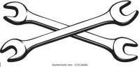 Crossed Wrenches Images, Stock Photos & Vectors | Shutterstock