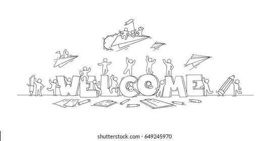 Welcome Back to Work Images, Stock Photos & Vectors