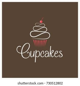 Cupcake Logo Images Stock Photos Amp Vectors Shutterstock