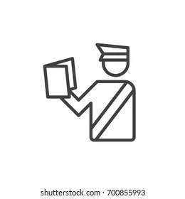 Customs Officer Stock Vectors, Images & Vector Art