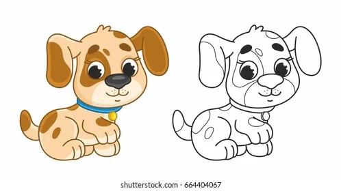 cute puppy cartoon images