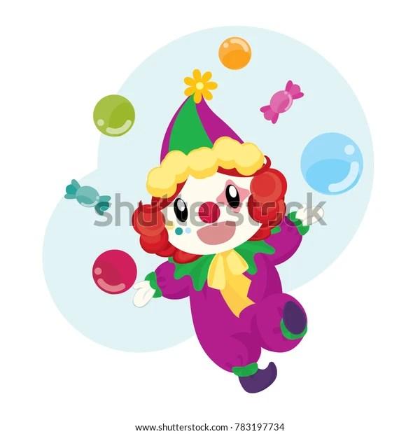 cute clown ball candy