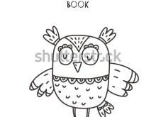 Kids Coloring Owl