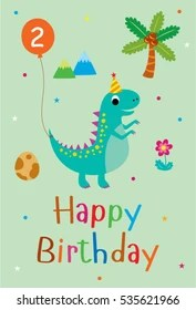 2nd birthday images stock