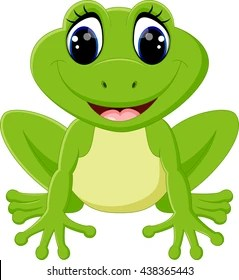 frog cartoon images stock
