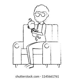 Cartoon Grandma Stock Vectors, Images & Vector Art