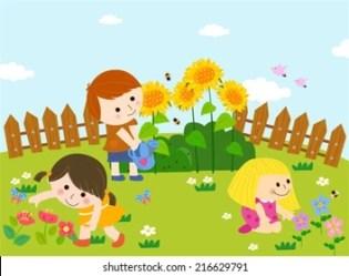 Garden Clipart Images Stock Photos & Vectors Shutterstock
