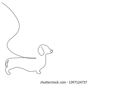 Dog Line Drawing Images Stock Photos Vectors Shutterstock