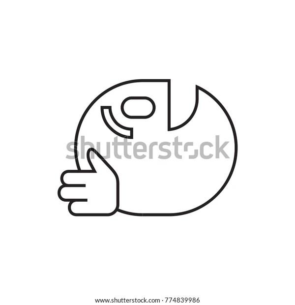dancing emoji icon illustration