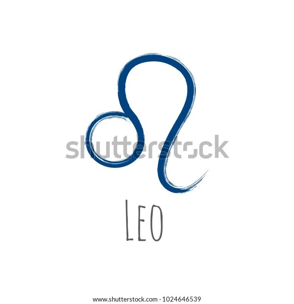 dark blue leo zodiac