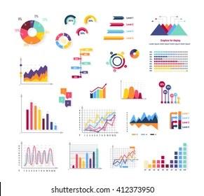 graph symbol images stock