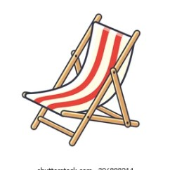 Deck Chair Images Narrow Accent Cartoon Stock Photos Vectors Shutterstock Icon